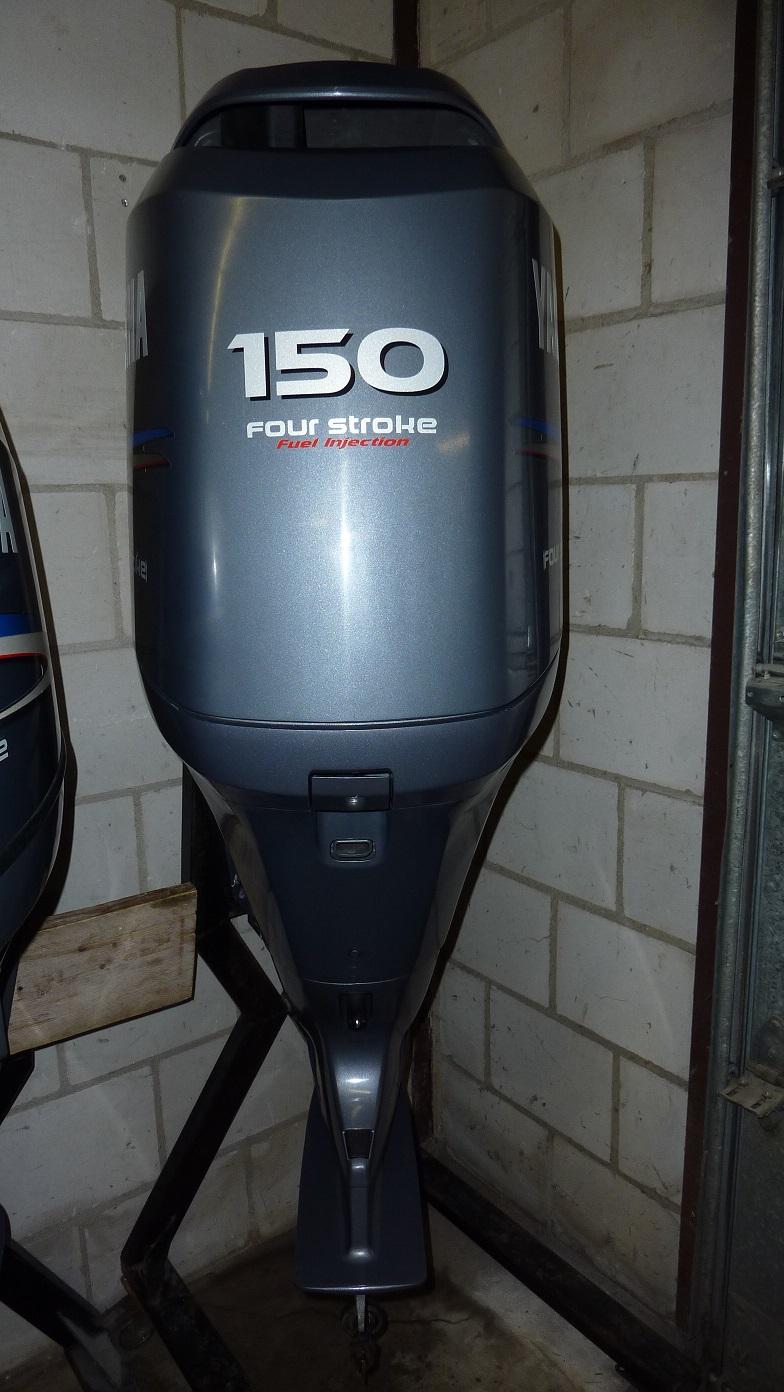Yamaha F150 AETL demo motor